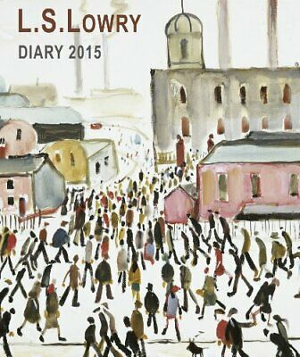 L.S. Lowry illustrated desk diary 2015 (Flame Tree Pu... by Flame Tree Publishin