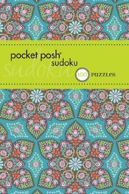 Pocket Posh Sudoku 15: 100 Puzzles by The Puzzle Society Book The Cheap Fast