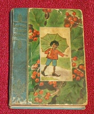 1905 Little Black Sambo Christmas Stocking Series, American Pirated 1St Printing