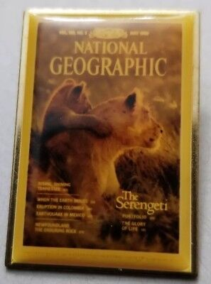 National Geographic Lion Pin