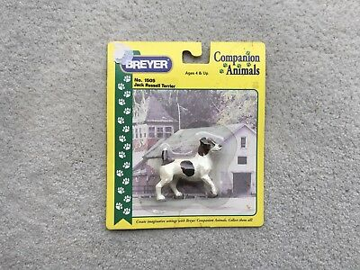 New NIP Breyer Horse Companion Animal #1505 Jack Russell Terrier Dog Retired