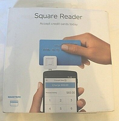 SQUARE READER Magstripe Portable iPhone iPad Android Credit Card Reader NEW
