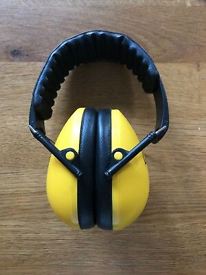 Kidz Yellow Ear Defenders