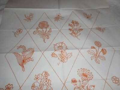 Vintage Embroidery Iron on Transfer No. TL1712 - Flowers