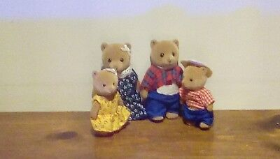 Calico Critters Bear Family