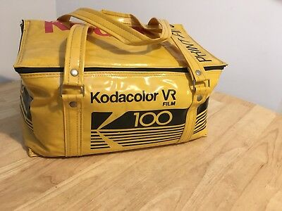 Kodak Vr Film Camera Bag Retro Vtg Kodak Color Vr 100 Film Bag 1990s
