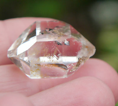 Herkimer Diamant Bergkristall New York Quarz klar ca.48,5ct Top Sammlerstück 04