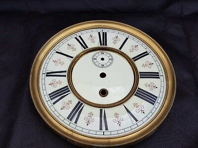 Antique Vienna regulator wall clock dial