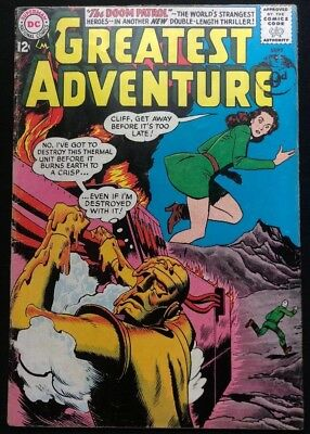 My Greatest Adventure #82 - 3rd appearance of the Doom Patrol Decent Condition