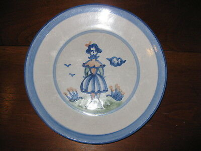 Hadley Ware Dinner Plate 11 inches  Woman Girl Teen