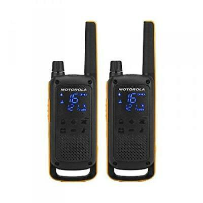 Motorola Talkabout T82 Extreme PMR446 2-Way Walkie Talkie Radio Twin Pack -...