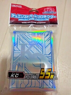 Yugioh Official Sleeves Duelist Card Protector KC 55pcs Japanese