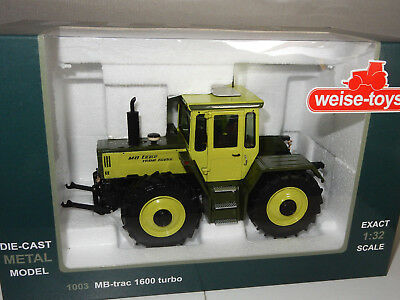 MB Trac 1600 Turbo - Weise Toys 1:32 - Traktor, Farm, Bauernhof, Mercedes - TOP