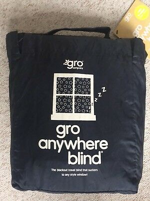Gro Company Gro Anywhere Travel Portable Baby/Toddler Blackout Blind