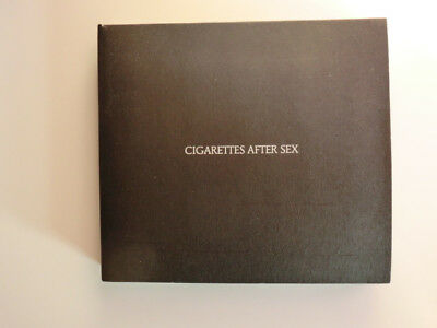 Cigarettes After Sex CD Neuwertig Neo Psychedelic mit Booklet