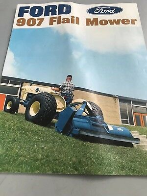 Ford Tractor Flail Mower brochure