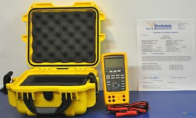 Fluke 724 Temperature Calibrator - NIST Calibrated with New Leads and Warranty