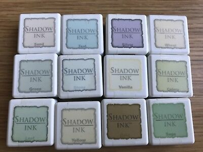 Hero Arts - Shadow Inks x 12 - 6 sealed