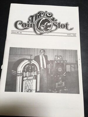 Issue # 62 dated April 1980 THE COIN SLOT