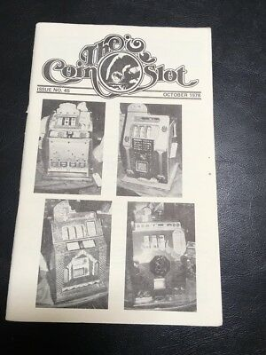 Issue # 45 dated October 1978 THE COIN SLOT
