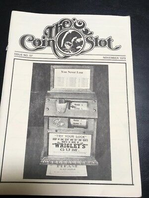 Issue # 57 dated November 1979 THE COIN SLOT
