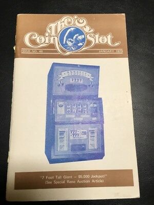 Issue # 48 dated January 1979 THE COIN SLOT