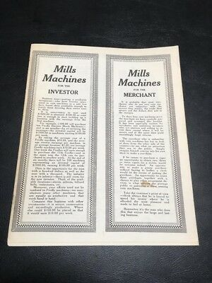 Mills Novelty Company Book Of Mills Machines