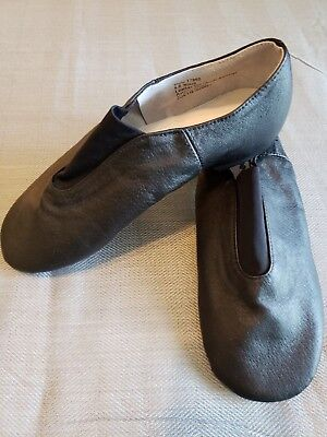 Theatricals Woman's Gore Top Jazz Shoes - Black Size 8 Dance Musical Theater