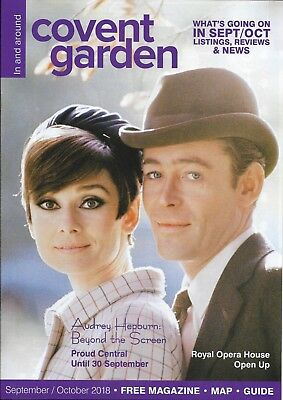 Audrey Hepburn Peter O'Toole Cover Sept/oct 2018 In And Around Covent
