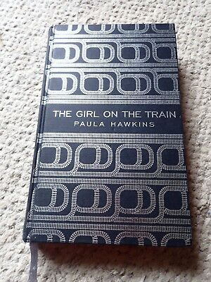 Girl on the Train special edition, silver foil design, by Paula Hawkins