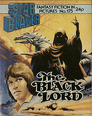 The Black Lord,starblazer Fantasy Fiction In Pictures,no.175,1986,comic