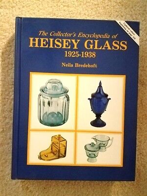 The Collectors Encyclopedia of Heisey Glass 1925-1938 by Neila Bredehoft