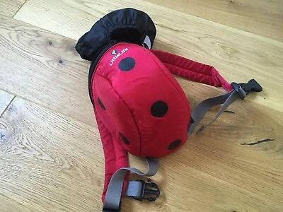 LittleLife Ladybird Toddler Top Grab Handle- missing rein- otherwise excellent