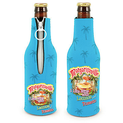 Jimmy Buffett Margaritaville Cheeseburger In Paradise Bottle Suit Koozie 2 Pack