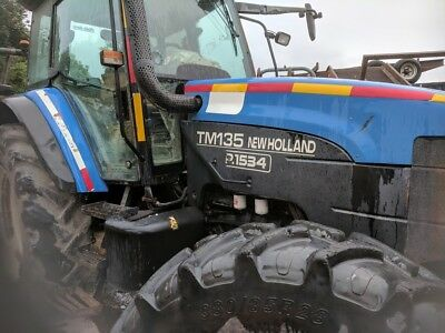 new holland tractor tm135 2002