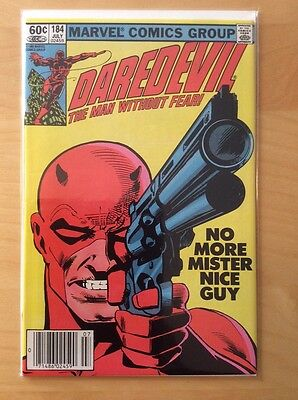 Daredevil 184, Nm (9.2 - 9.4), 1St Print, Frank Miller Punisher