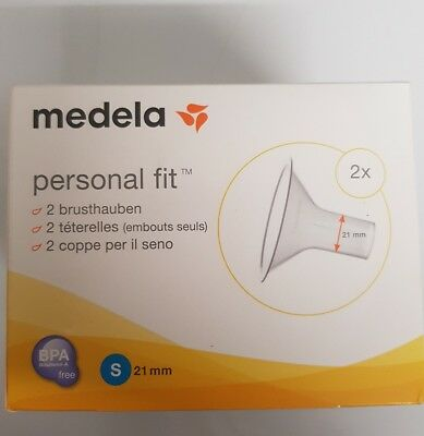 MEDELA Personal Fit Brusthaube Gr.S 2 St 1 P 10282850