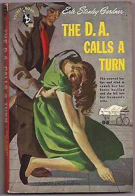 The D. A. Calls A Turn  Erle Stanley Gardner - Vintage Paperback 1948  Mystery