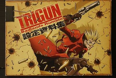 JAPAN Trigun: Badlands Rumble Settei Shiryou Shuu (Material Collection) Art Book
