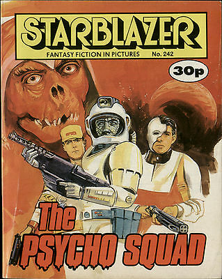 The Psycho Squad,starblazer Fantasy Fiction In Pictures,comic,no.242,1989