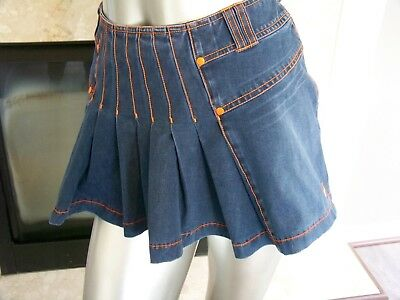SUPER Rare SERENA Williams NIKE Denim MINI Tennis SKIRT Medium 242058!