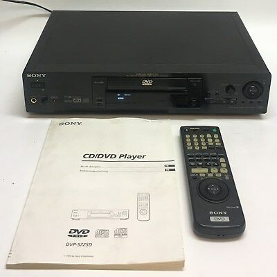 SONY DVP-S725D High-End DVD Player