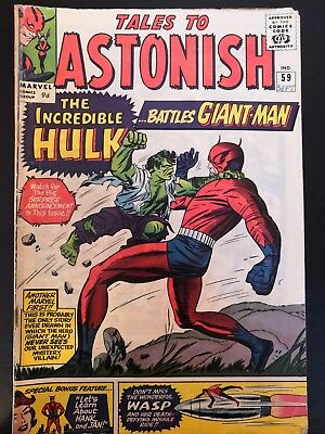 Tales To Astonish 59 The Incredible Hulk Battles Giant-Man