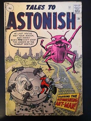 Tales To Astonish 39 Starring The Astonishing Ant-Man