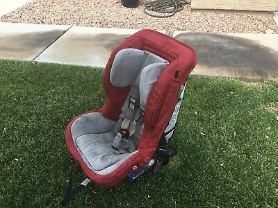 Orbit Baby G2 Red toddler car seat with side braces (EXP 2019)
