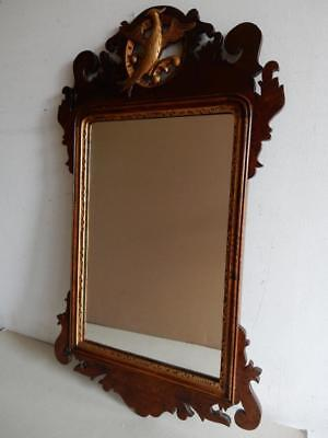 ANTIQUE really old MIRROR old wall mirror