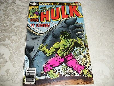 Incredible Hulk 244 - FN - CENTS