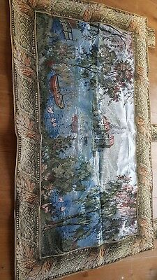 tapestry of a landscape