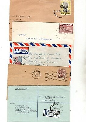 Malaysia Various Covers/fdc's X10 From Collection 8C/3