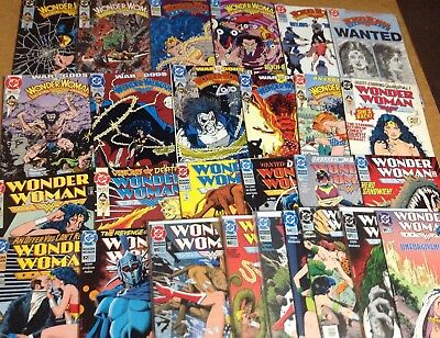 WONDER WOMAN #'s 52-64, 76-82, 85, 86, 92, 94-95, 97 & 99! MOVIE! D.C. COMICS